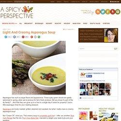Slow Carb Creamy Asparagus Soup