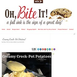 ~Creamy Crock-Pot Potatoes