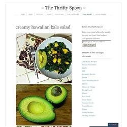 creamy hawaiian kale salad