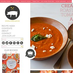 Creamy Roasted Tomato & Basil Soup recipe
