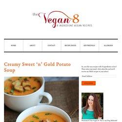 Creamy Sweet 'n' Gold Potato Soup