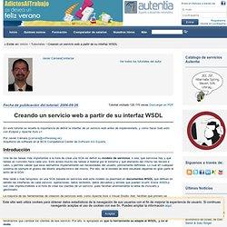 Creando un servicio web a partir de su interfaz WSDL
