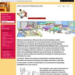 creandowikis - LAS TICS EN PREESCOLAR