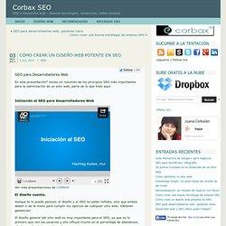Cómo crear un diseño web potente en SEO