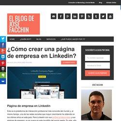 ¿Cómo crear una página de empresa en Linkedin?