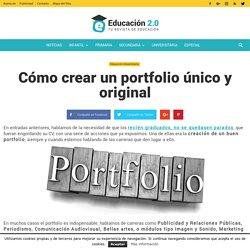 Cómo crear un portfolio único y original