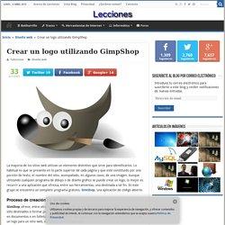 Crear un logo utilizando GimpShop