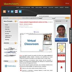 Creare ambienti di apprendimento online con Viziq