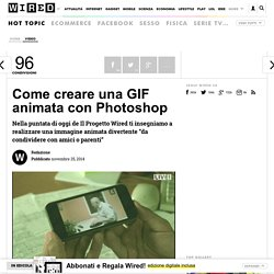 Come creare una GIF animata con Photoshop