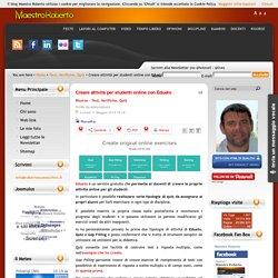 Creare attività per studenti online con Edueto