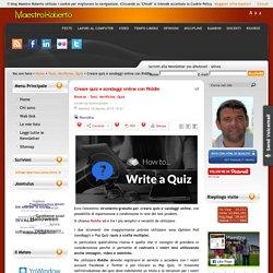 Creare quiz e sondaggi online con Riddle