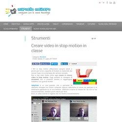 Creare video in stop motion in classe
