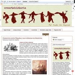 creartehistoria: Comercio entre España y sus colonias en América