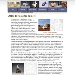 Crease Patterns For Folders