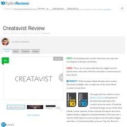Creatavist Specs, 2016