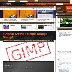Create a simple Grunge-Stamp!