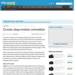 Create stop-motion animation