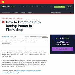 How to Create a Retro Boxing Poster in Photoshop