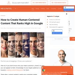 How to Create Human-Centered Content That Ranks High in Google