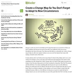 Create a Change Map So You Don't Forget to Adapt to New Circumstances