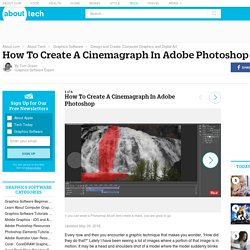 How To Create A Cinemagraph In Adobe Photoshop