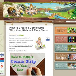 How to Create a Comic Strip With Your Kids in 7 Easy Steps