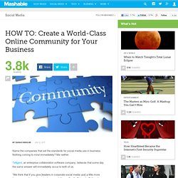 HOW TO: Create a World-Class Online Community for Your Business