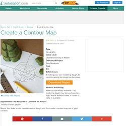Create a Contour Map
