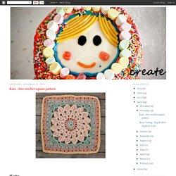 Kata - free crochet square pattern