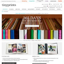 Photo Books - Personalized Photo Book & Custom Photobooks by Tiny Prints