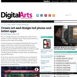 Turn your art & designs into iPhone, iPad & Android apps - Feature