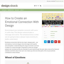 How to Create an Emotional Connection With Design
