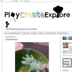 Play Create Explore: Slime Revisited