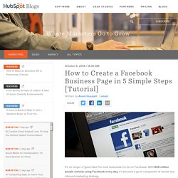 How to Create a Facebook Business Page in 5 Simple Steps (With Video!)
