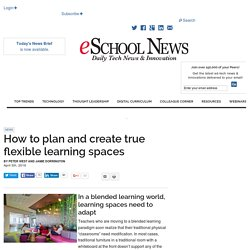 How to plan and create true flexible learning spaces