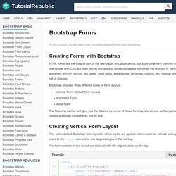 How to Create Form Layouts with Twitter Bootstrap 3