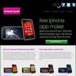 Create Free iPhone Apps