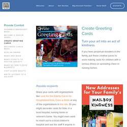 Create Greeting Cards — Doing Good Together™