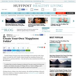 Create Your Own 'Happiness Folder'