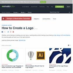 How to Create a Logo - Envato Tuts+ Design & Illustration Tutorials
