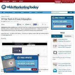 10 Free Tools to Create Infographics