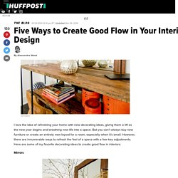 Five Ways to Create Good Flow in Your Interior Design