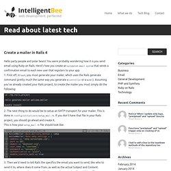IntelligentBee Tech Blog