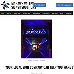 Create Vital Marketing Assets with Your Local Sign Company