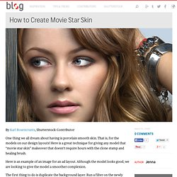 How to Create Movie Star Skin