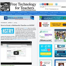 How to Create a Multimedia Timeline on HSTRY