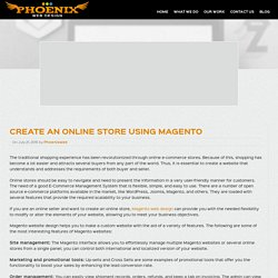 Create an Online Store Using Magento