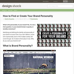 How to Find or Create Your Brand Personality