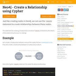 Neo4j - Create a Relationship using Cypher