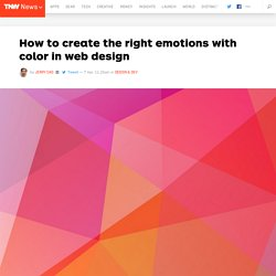 How to Create the Right Emotions with Color in Web Design